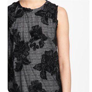 Karl Lagerfeld Sleeveless Floral Lace Dress Sz. 12